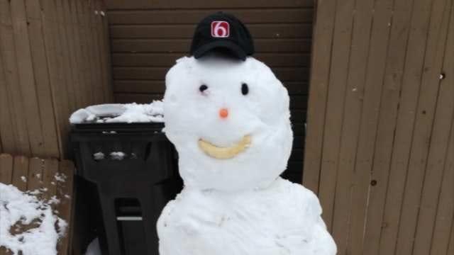 Oklahomans Share Their Snow Day Photos With News On 6