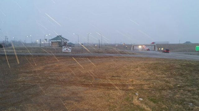 Snow Returns To Northeast Oklahoma