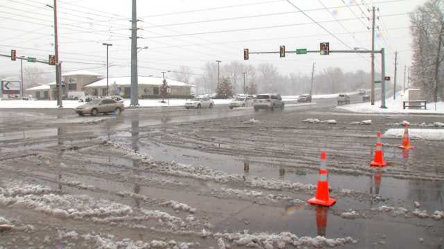 Snowfall Leads To Multiple Crashes In Tulsa Area