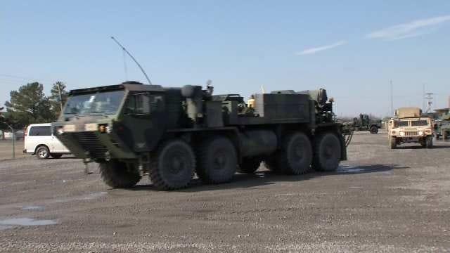 Oklahoma Soldiers Being Deployed To Afghanistan, South America