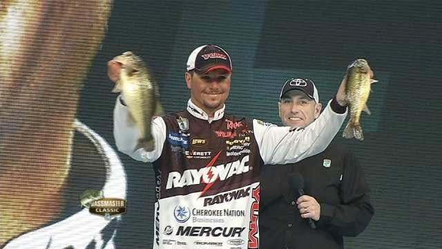 Oklahoman Jason Christie 5th Going Into Bassmaster Classic Final Day