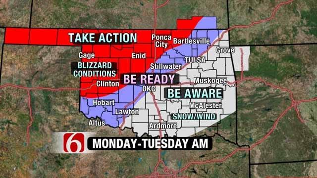 Winter Storm Promises Rain, Wind, Some Snow