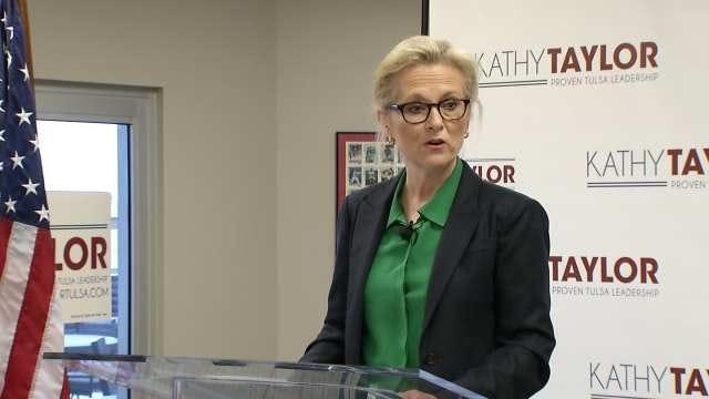 Former Tulsa Mayor Kathy Taylor Kicks Off New Mayoral Campaign