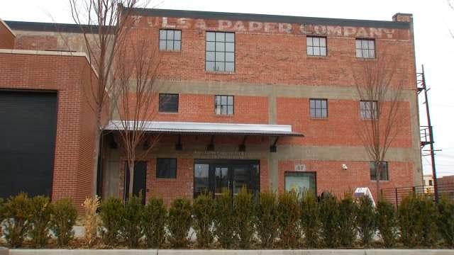 Warehouse Turned Brady District Art Center Keeps Graffiti