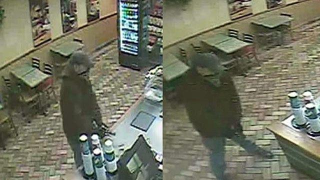 Caught On Camera: Man Robs East Tulsa Restaurant Employee