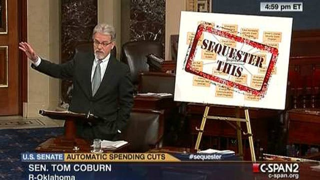Senator Tom Coburn Has Some Ideas For Sequestration