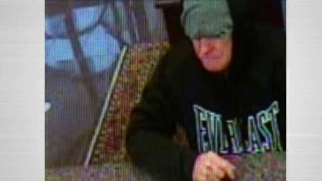 Tulsa Police Looking For Suspect In Downtown Bank Robbery