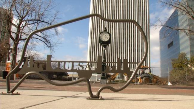 Art Meets Functionality In Downtown Tulsa Bike Racks