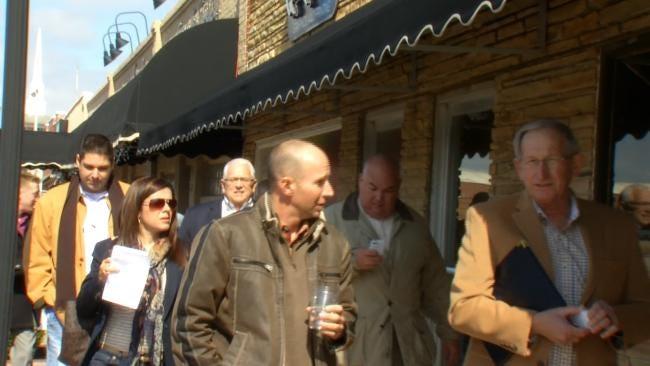 Broken Arrow Leaders Show Off Rose District To Developers