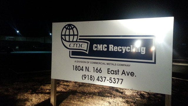 Explosion At Catoosa Recycling Plant Heard In East Tulsa