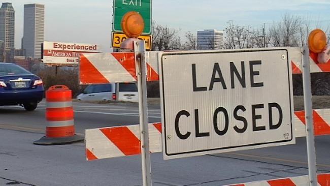Repairs To Slow Traffic On Creek Turnpike Bridge Over Memorial