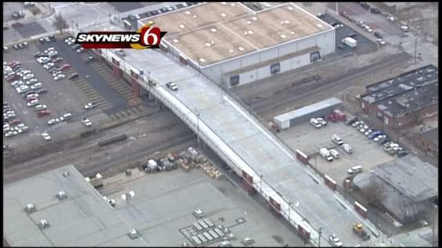 Downtown Tulsa's Boulder Avenue Bridge Re-Opens To Traffic
