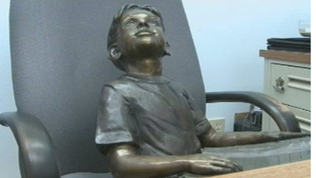 Bronze Statue Stolen From Miami Library Recovered In Joplin