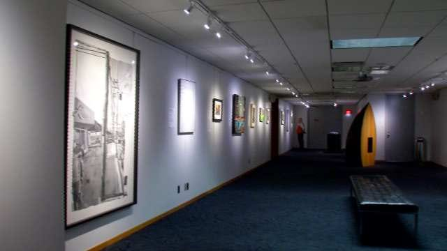 Tulsa PAC Art Exhibit Shows Off Work By Area Professors