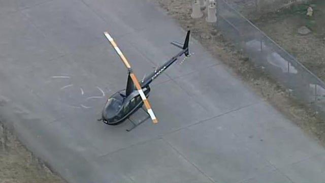 Helicopter Makes Hard Landing At Tulsa International After Losing Tail Rotor
