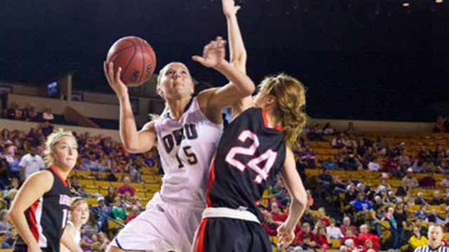 Oral Roberts Women Falter Down The Stretch In Loss To Lady Demons