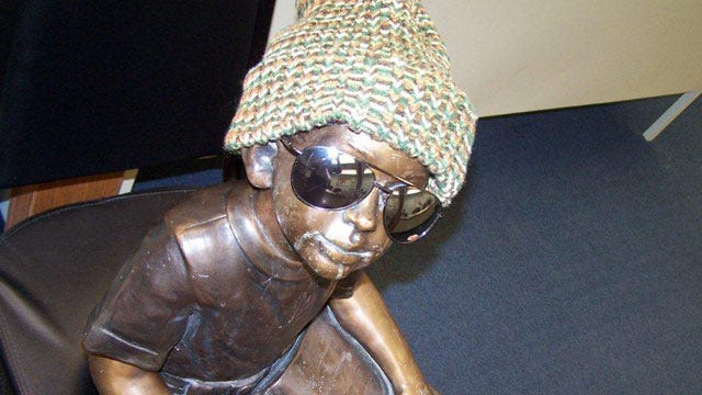 Miami Resident Credited With Recovering Stolen Library Statue