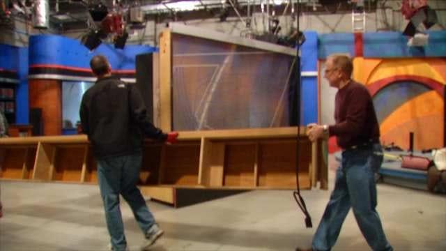 News On 6 Donates Old Frankfort Studio Set to TCC Students