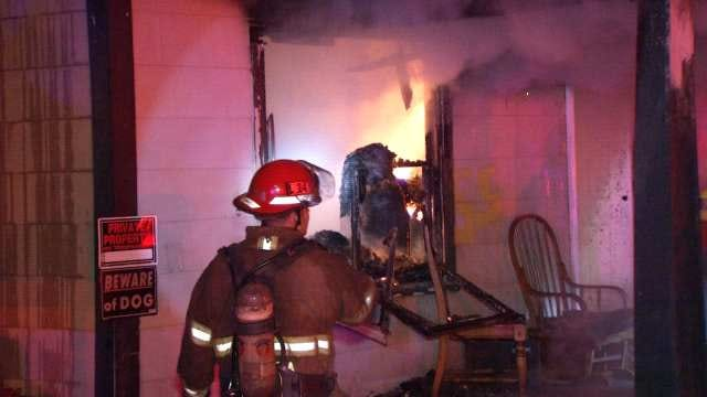 Resident Not Injured In Tulsa House Fire