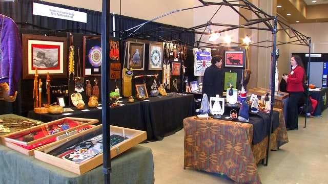 See 'Living Art' At Tulsa's Indian Art Festival
