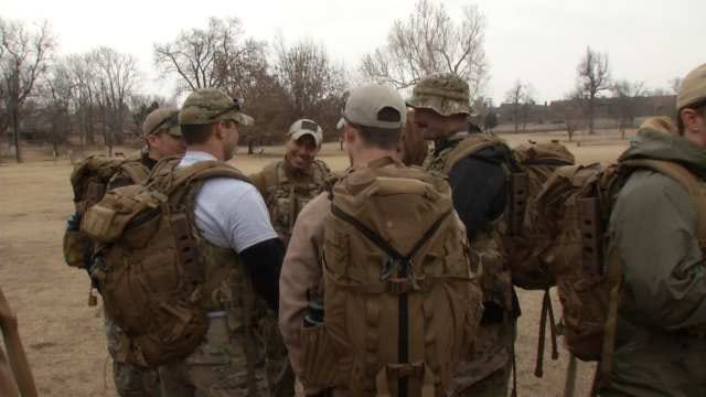 Oklahoma Airmen Honor Their Fallen Friend With Memorial March