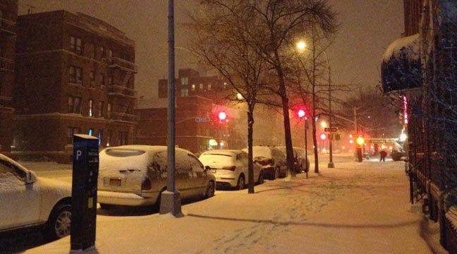 Oklahomans Respond To Winter Storm On East Coast