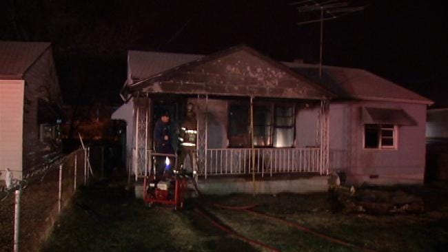 Tulsa Home Damaged By Fire Late Wednesday