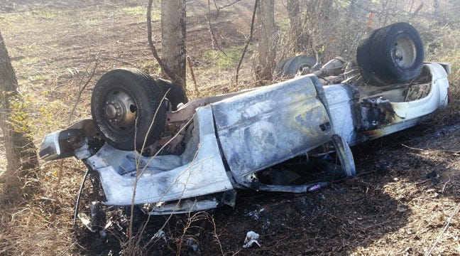 Bixby Road Rage Incident Ends With Fiery Rollover Crash