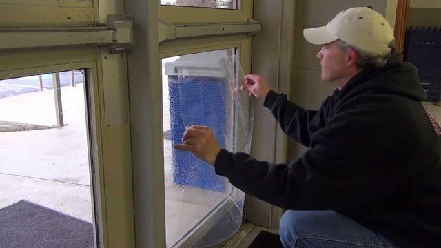 Bomb Resistant Doors, Windows Installed at Sequoyah County School