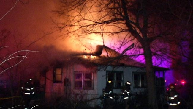 Tulsa Firefighters: Space Heater May Have Caused Deadly House Fire