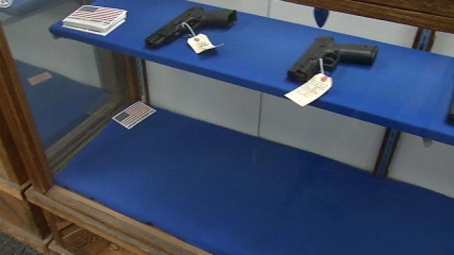 Tulsa Gun Store: Sales Spike Due To Talk Of Stricter Legislation