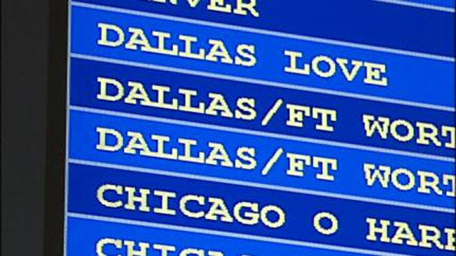 Winter Weather In Dallas Delays Flights In Tulsa