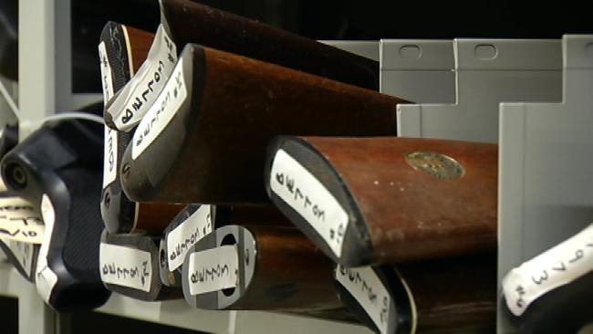 Spokesperson: Since 2005, Tulsa Police Have Destroyed 8,000 Guns