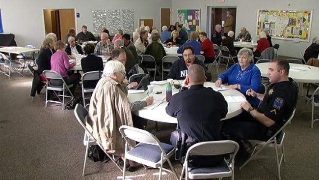 Tulsans Of Different Faiths Gather To Address Gun Violence
