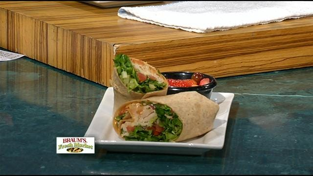 Turkey Bacon Avocado Wraps