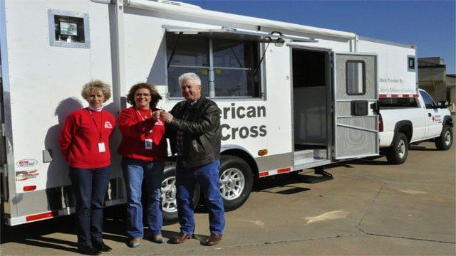 Cushing Group Donates Disaster Response Truck To Red Cross