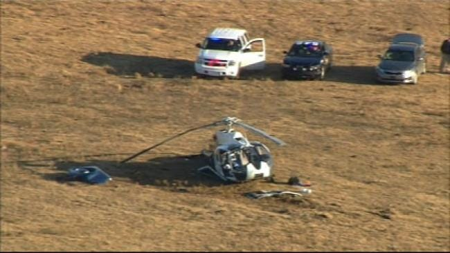 Four People Injured When Medical Helicopter Makes Crash Landing Near Cromwell