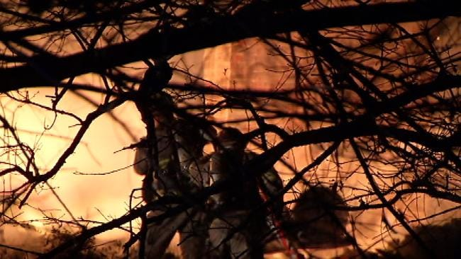Smoke Detectors Save Family As Fire Guts Home Outside Of Kellyville