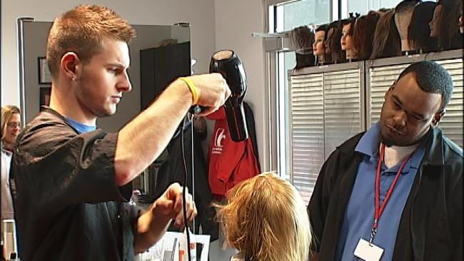 Some Tulsa Kids Get Free Haircuts Before Going Back To School