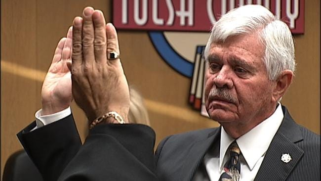 Tulsa County Sheriff Stanley Glanz Sworn In To Seventh Term