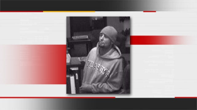 Tulsa Police Seeking Suspect In Bank Robbery