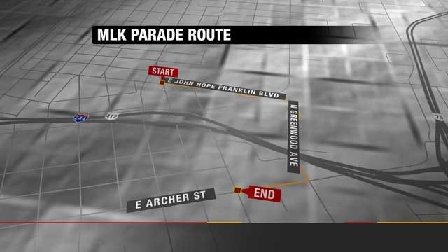 Tulsa Martin Luther King Parade Honors Civil Rights Leader