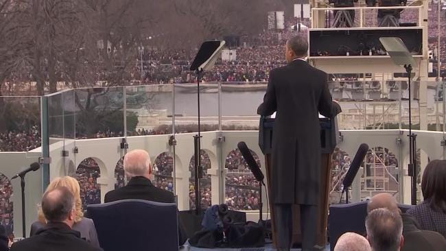 Two Oklahomans Witness History At Presidential Inauguration