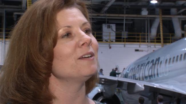 American Airlines Debuts New Look At Tulsa Maintenance Base