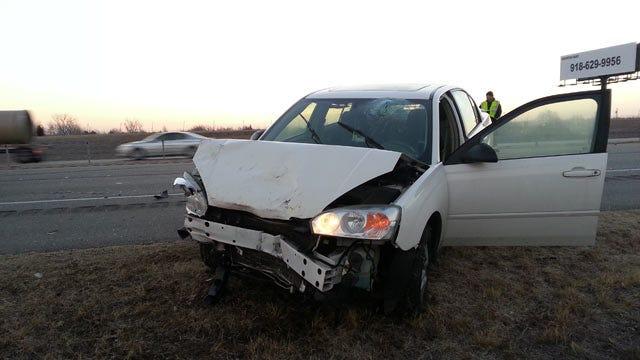 Drivers Hurt In Highway 75 Crash Near Owasso