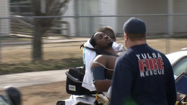 Man Shot By Security Guard After Robbing Tulsa Credit Union