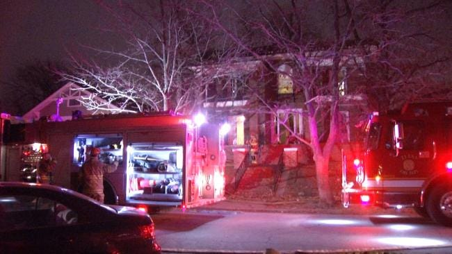 No One Hurt In Midtown Tulsa Apartment Fire