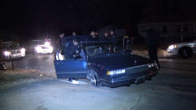 Tulsa Police Use Stop Sticks To End Chase Overnight