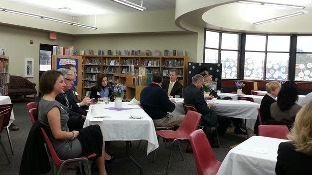 Tulsa Public Schools Board Of Education Meets With Lawmakers