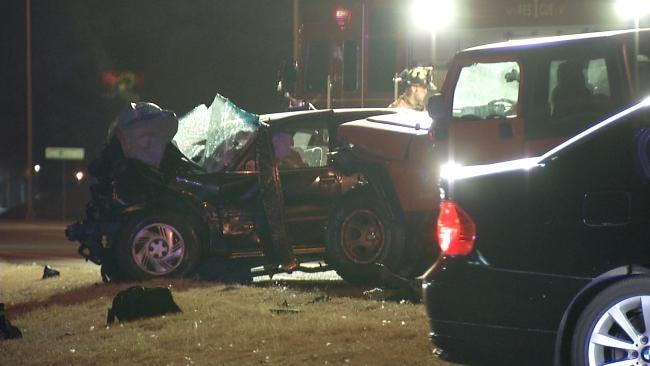 Elderly Tulsa Woman Killed In Head-On Collision